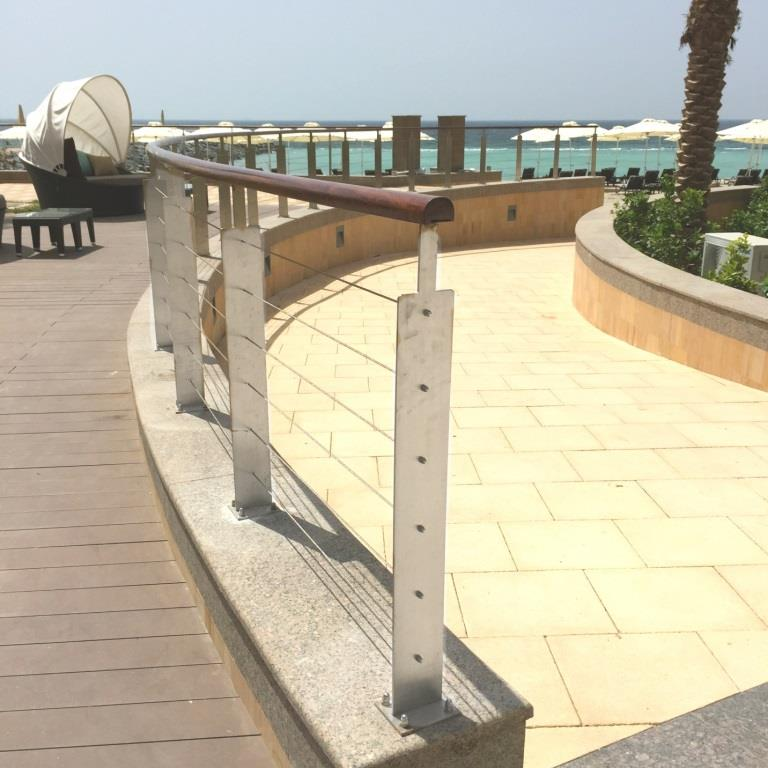 Stainless Steel Balustrade Manufacturer And Suppliers In UAE