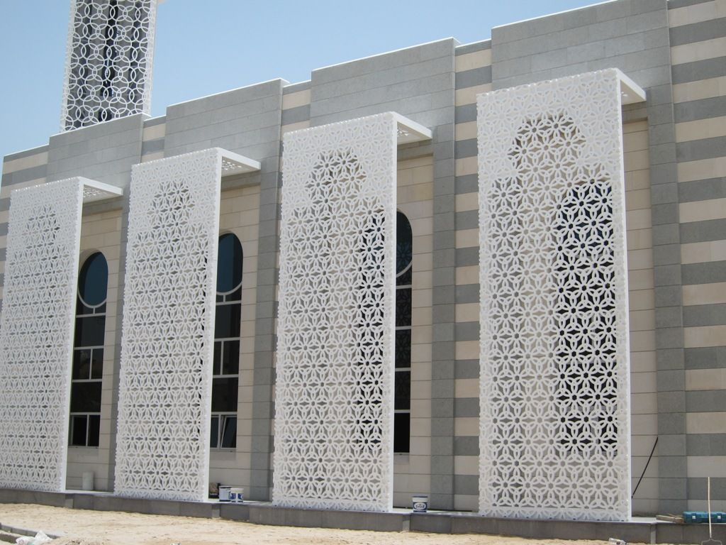 Cast Aluminium Mashrabiya Manufacturers/Suppliers In UAE