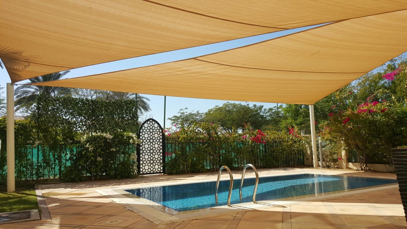 Swimming pool shades manufacturers suppliers in dubai abu dhabi uae for Swimming pool suppliers in dubai